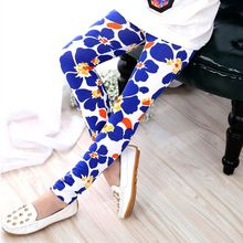 New Spring Autumn Baby Girls Soft Slim Pants Stretch Leggings Kids Girl Trousers(China)