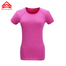 Yoga sport t shirt vest tank top jersey o neck women female Gym fitness outdoor tennis quick dry hiking running breathable XS-XL