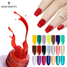 BORN PRETTY 20 Colors One-step Nail UV Gel Polish 5ml Soak Off Nail Art Decoration Varnish For Manicure DIY Lacquer(China)