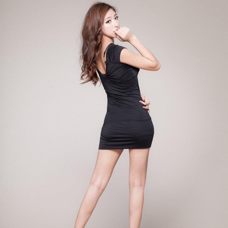 2017 Hot Women Sexy Slim Dress Pole Dance Ladies Clubwear sexy lingerie Erotic Underwear Sexual custumes Black Red Blue dress
