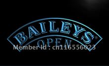 LA064- Baileys Beer OPEN Sign  LED Neon Light Sign     home decor shop crafts