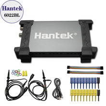 Hantek 6022BL PC USB Oscilloscope 2 Digital Channels 20MHz Bandwidth 48MSa/s Sample Rate 16 Channels Logic Analyzer free ship(China)
