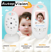 VB601 10PCS/lot Wireless Video Baby Monitor Camera Night Vision Lullaby Nanny Baby nice Monitor on line buy free shipping AT(China)
