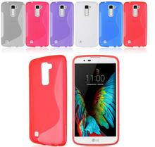 Hot Selling Soft TPU Gel S line Skin Cover Case For LG K7 M1 / Tribute 5 Mobile Cell Phone Bag & Case Free Shipping(China)