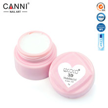 #40261 CANNI 3D Modelling Gel Flower Builder Gel Nail Design Painting Gel(China)