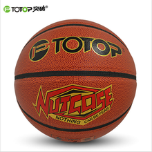 PTOTOP Professional Indoor Outdoor PVC Basketball Ball Non-Slip Men Women Training Basket Ball Equipment TP7109 Freeshipping