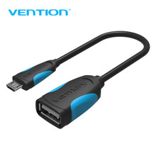 VENTION OTG Adapter Micro USB To USB 2.0 Converter OTG Cable for Android Samsung Galaxy S3 S4 S5 Tablet PC Flash Mouse Keyboard