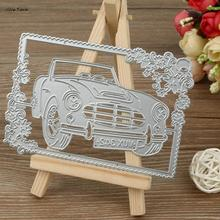 ISHOWTIENDA 2017 New Metal Cutting Dies Stencil DIY Scrapbooking Embossing Album Paper Card Craft Car Styling(China)