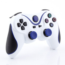 Blue plus White Wireless Bluetooth Sixaxis Controller for Sony PS3 Console Game