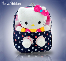 Cute Hello Kitty Backpacks Children Cartoon School Bags For girls SchoolBag Kids bookbag Kindergarten Baby Bag Mochila Escolar
