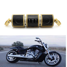New Motorcycle Motorbike Waterproof Hi-Fi Bluetooth Music MP3 Bike Audio System Supports USB / TF Card / AUX In / AM FM Radio