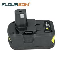 For Ryobi P108 RB18L40 18V 4Ah Lithium Ion High Capacity Pack Power Tool Battery for Ryobi ONE+ Rechargeable Battery