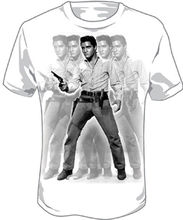 ELVIS PRESLEY Western Images T SHIRT  Brand New Official liverpool