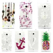 Phone Case Cover For Microsoft Nokia Lumia 535 N535 5.0 inch Relief Silicone Covers Cases Mobile Phone Accessories Lumia 535 Bag