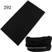280-300 100% Polyester Microfiber Tubular Multifunction Motorcycle Scarf Headband Seamless Tube Bandanas Solid Bandanas(China)