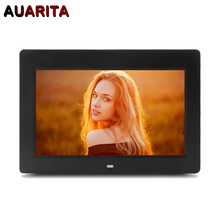 "10"" HD LED Digital Photo Frame 1024*600 Electronic Picture Frame Clock Calendar MP3 MP4 Movie Player with Remote Control"