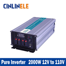 Smart Series Pure Sine Wave Inverter 2000W CLP2000A-121 DC 12V to AC 110V 2000W Surge Power 4000W Power Inverter 12V 110V