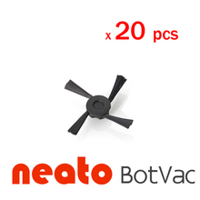 20 Pieces Replacement Neato Botvac Side Brush for 70e 75 80 85 Vacuum Cleaner Accessaries Neato Botvac Side Brush(China)