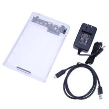 3.5inch Type-C USB 3.1 SATA External HDD Enclosure Hard Drive Case Mobile Hard DIsk Enclosure for PC Laptop