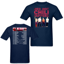 Red Hot Chili Peppers The Getaway 2017 World Tour RHCP T-Shirt Men Women Rock tee size S~XXXL(China)