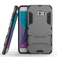 Ultra Thin New Armor Hybrid Dual 2 in 1 Rugged Hard PC + TPU Protective Shockproof Cover for Samsung Galaxy C5 C5000 Phone Case
