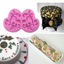 European Style Flower Shape Border Decoration Mold Fondant Cake Molds Chocolate Mould For The Kitchen Baking Decoration Tool