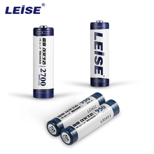 Leise 4pcs/lot High Capacity Series Rechargeable Batteries Mixed Set 2pcs Size AA+2pcs Size AAA Ni MH Rechargeable Batteries
