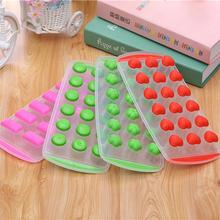 Free Shipping Silicone Ice Ball Cube Tray Freeze Mould Bar Jelly Chocolate Mold Maker ZH638