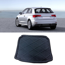 Auto Rear Cargo Liner Trunk Mat For Audi Hatchback A3 8V 2014-2016