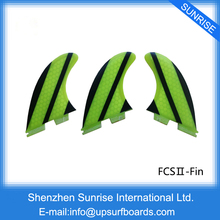 FCS2 Fins Yellow G5 Surfboard FCSII Fins Specifical Design Fins For Sale Free shipping