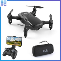 High Hold Headless Selfie Professional Helicopter Foldable FPV wifi drone