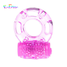Buy ORISSI Elastic Delay Penis Rings Vibrating Cock Ring Stretchy Intense Clit Stimulation Premature Ejaculation Lock Sex Product