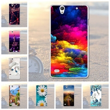 Soft Phone Cases For Sony Xperia C4 Dual E5333 E5306 E5303 E5353 E5343 E5363 Cases Back Covers Skin Bags For Sony Xperia c4 C4(China)