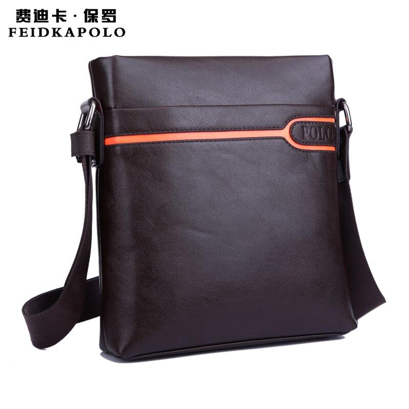2015 Cheap brand Messenger Bag  High quality casual bag bag  Fashion leather handbags Black and brown free shipping<br><br>Aliexpress