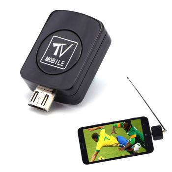 Mini Micro USB DVB-T TV Digital Mobile Tuner Stick Receiver Dongle For Android Phone DVB-T Android HDTV Dongle O3
