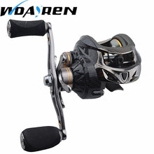 NEW 18 + 1 Bearings Fishing Reels GT 6.3: 1 Bait Casting Reels Left Right Hand Fishing with One Way Clutch Bait casting Reel(China)