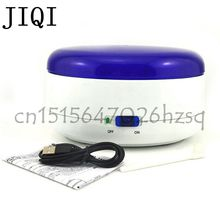 JIQI Household ultrasonic cleaner Ultrasonic bath Cleaning machine wash glasses jewelry watch Mini shock type cleaner