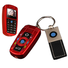 Turkish bar small size sport cool supercar car key model cell mini mobile phone cellphone X5 P366(China)