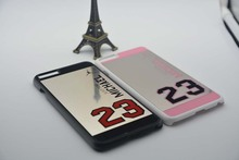 2015 Air Michael Jordan 23 coque for iPhone 6 6s 6/6S plus 5s 5 case bulk back cover NBA brand  coque PC hard mirror cases i5
