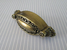 "2.5"" Dresser Pull Drawer Pulls Handles Antique Bronze Metal Cabinet Pull Handles Knobs Furniture Kitchen Cupboard Handle"