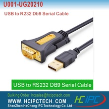 HCIPC UG20210 USB to RS232 COM Port Serial PDA 9 DB9 pin cable adapter Prolific PL2303 support Windows 7 8.1 XP Vista Mac OS(China)