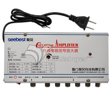 Seebest Original Authentic CATV Signal Amplifier 30DB Any Closed Circuit Television Amplifier SB-1030M6