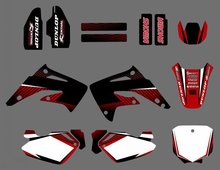 GRAPHICS & BACKGROUND DECAL STICKER Kit for Honda CR85R CR85 2 STROKES 2003 04 05 06 07 08 09 10 11 2012 CR 85 85R(China)