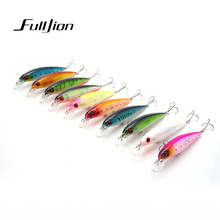 Fishing Lures for Most Fishing Rods Floating Laser Minnow 3D Eyes Wobbler Crankbait Plastic Baits Pesca Isca 11cm13.5g 11cm10.5g