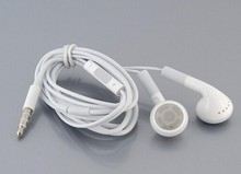 Best quality stereo Earphone noise canceling earbuds With Mic and voice control for Apple iPhone 4 4S for ipod 10pcs/lot