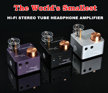 Music Hall 2016 Lastest HiFi Headphone Amplifier Stereo Mini Valve Tube Amp Audio Preamp Free Shipping