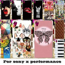Soft Silicon TPU & Plastic Phone Covers Cases For SONY Xperia X performance F8131 F8132 SONY xperia XP Dora SS 5'' Cases covers