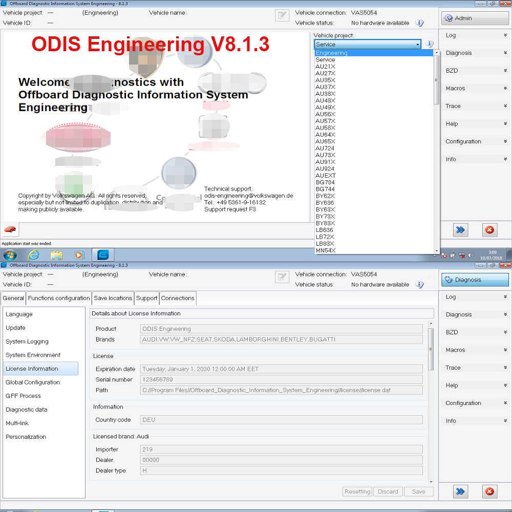 odis vw download free