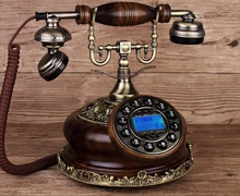 IDS-8520 fashioned rotary table telephone antique vintage dial telephone/Caller ID Hands-free/backlit(China)