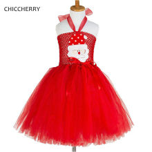 2017 Baby Girls Red Christmas Dress Lace Tutu Party Dress Infant Children Clothing Kids Clothes Roupas Infantis Menina Vestidos